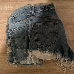 Two Pairs- High Waisted Shorts
